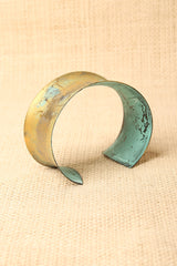 Burnished Cuff Bracelet