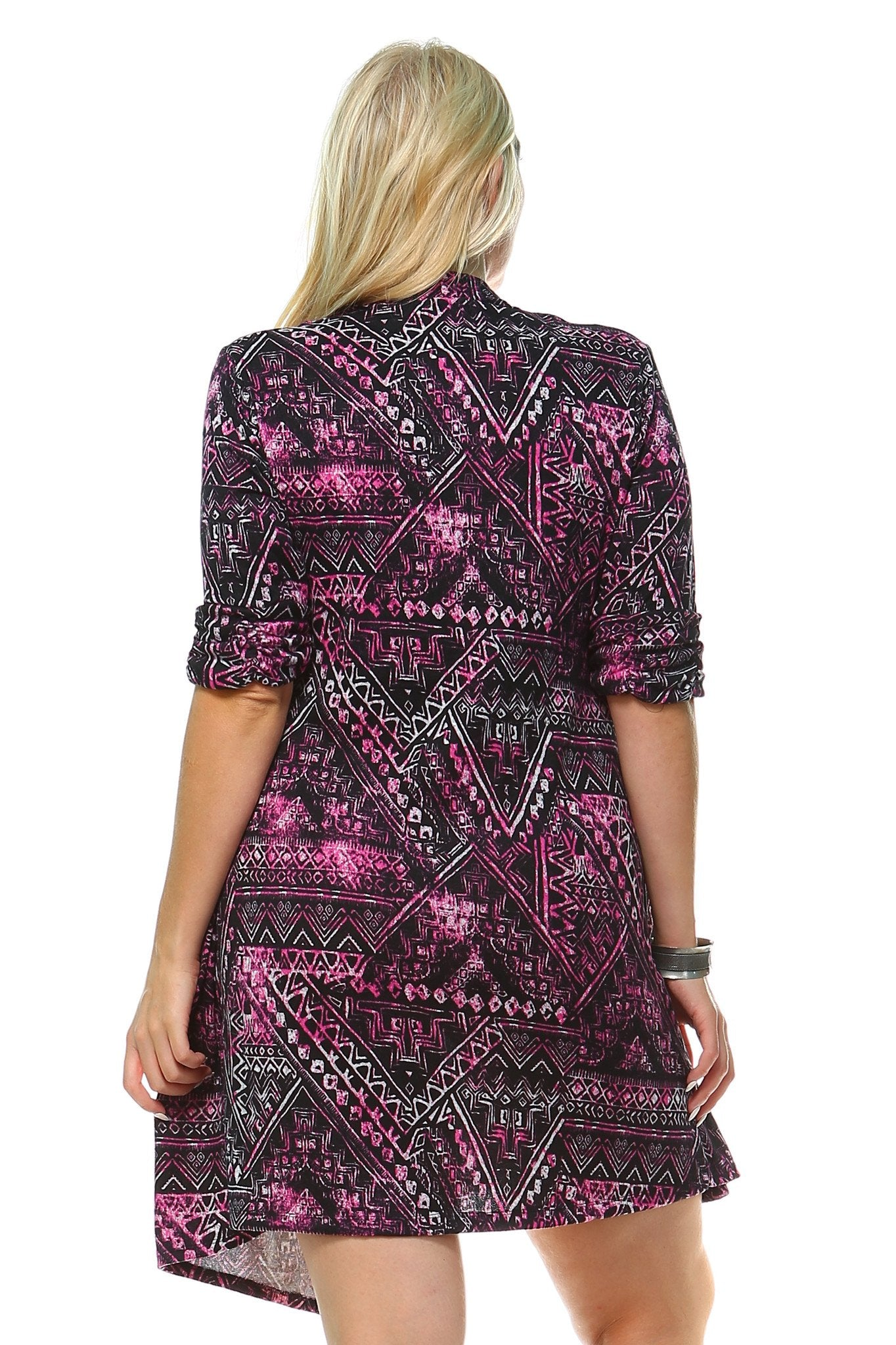 Women's Plus Size Printed Dress