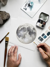 MOON Watercolor Workshop (online)
