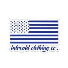 ICC Flag Blue Kiss-Cut Stickers