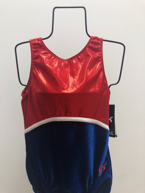 Red White & Blue Leotard