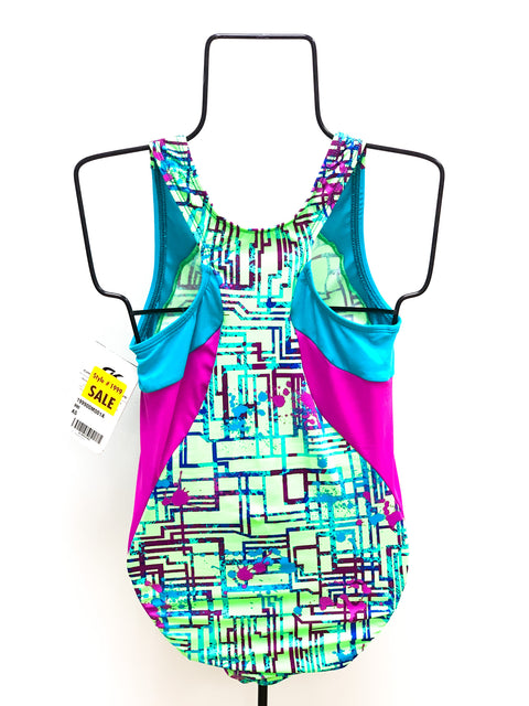 Abstract Pattern Leotard