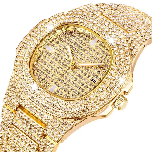 Luxury Women Crystal Quartz Watches