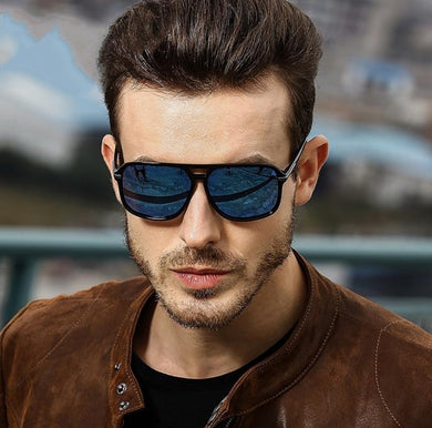 Designer Retro HD Polarized Sunglasses Lens UV400