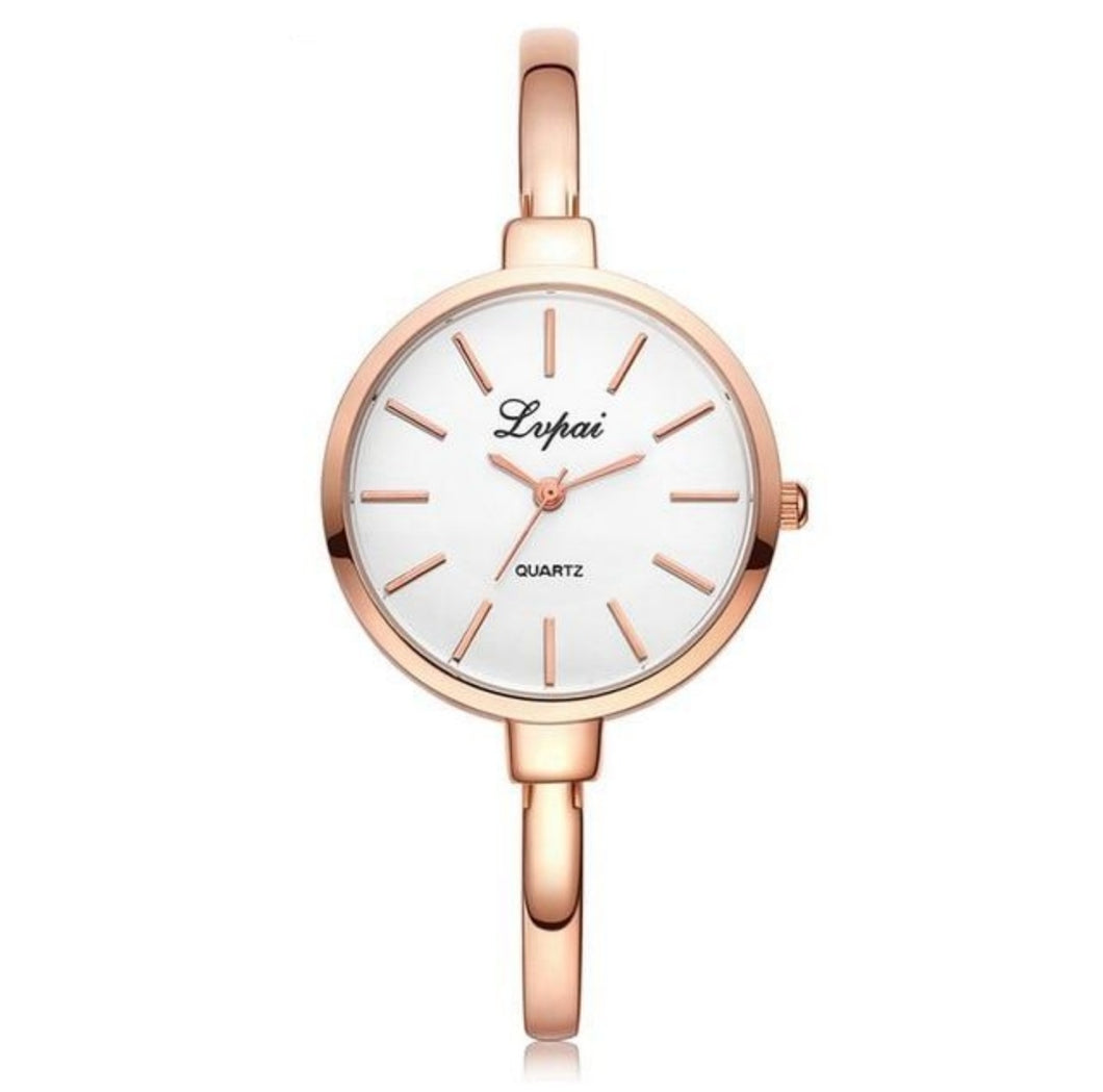 Rose Gold Women Bracelet Watches