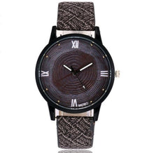 Hot Selling Wood Casual Leather Quartz Watch