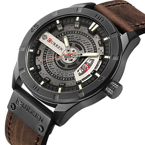 Hot Selling! CURREN Men Military Sports Watches - shopoile