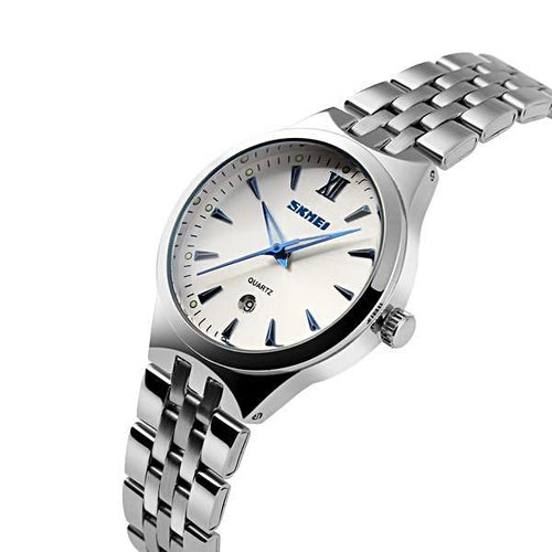 Beautiful Simple Full Steel Waterproof Quartz Watches - shopoile
