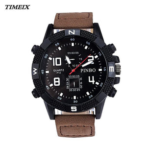 2018 Luxury Large Dial Sport Quartz Sports Watch - shopoile
