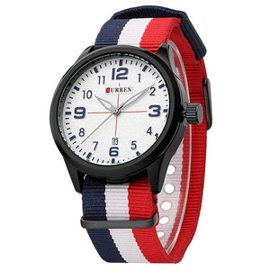 2018 Hot! CURREN Men Fashion Casual Quartz Watch - shopoile