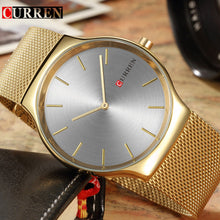 Top Brand Luxury Gold Stainless Steel Quartz Watch - shopoile