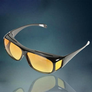 2018 High Quality HD Night Vision Yellow Lens Sunglasses - shopoile