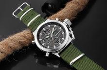 Hot Stylish Men Sports  Digital Analog Watches - shopoile