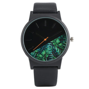 Unique Unisex Jungle Design Quartz watch - shopoile