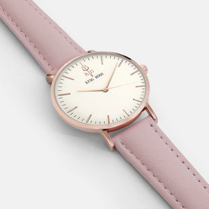 Hot Selling Luxury Quartz Watch With Leather Strap - shopoile