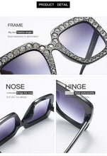 Latest Unique Diamond Square Design Sunglasses - shopoile