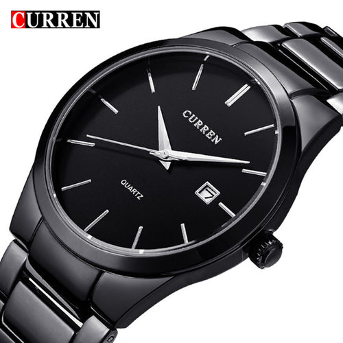 CURREN Simple Fashion Waterproof Quartz Watch - shopoile