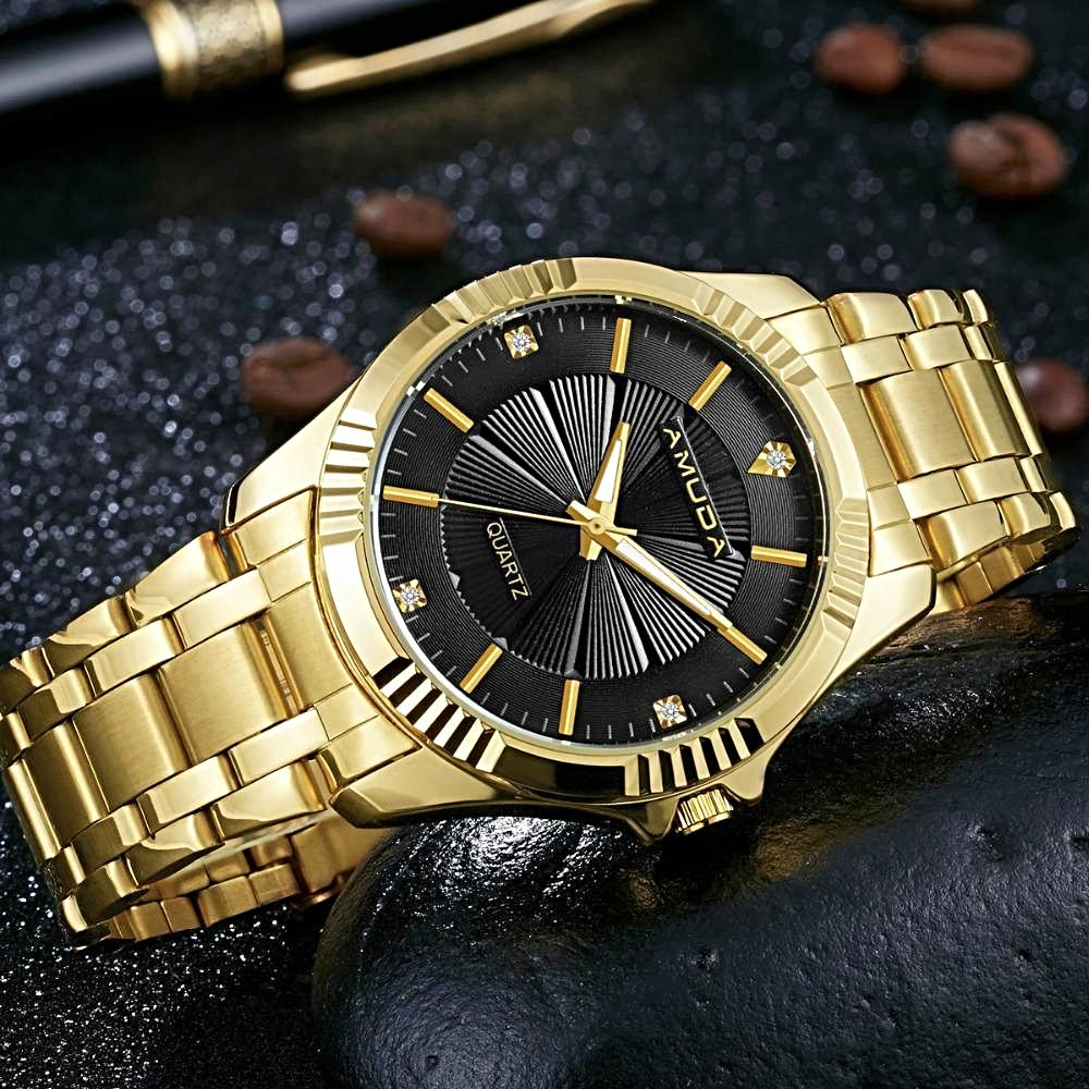 Top Luxury Gold Men's Watch - shopoile
