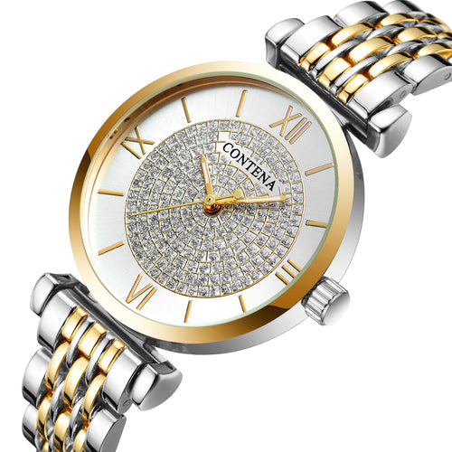 Latest Ultra Thin Luxury Women Quartz Watches - shopoile