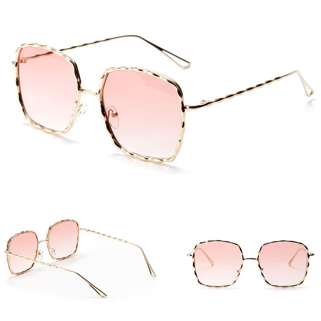 Latest Oversized Frame Square Sunglasses - shopoile