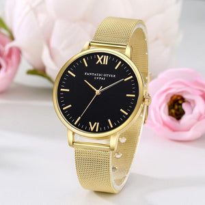 Luxury Stainless Steel Quartz Watch