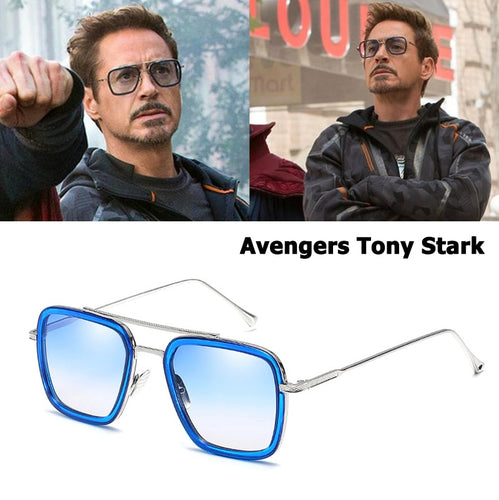 Fashion Avengers Tony Stark Style Sunglasses