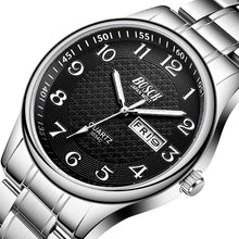 Full Stainless Steel Waterproof Quartz Wristwatch