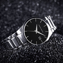 Top Luxury Stainless Steel Waterproof Quartz Watch