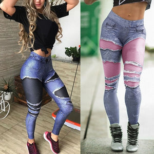 3D Workout Fitness Leggings | Active Wear