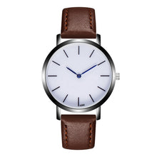 Leather Strap Sports Quartz Military Wrist watch