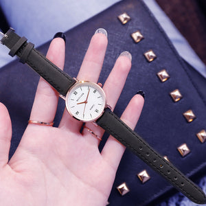 Cute Leather Quartz Watch For Women