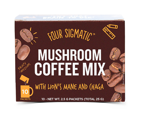 Four Sigmatic - Mushroom Coffee with Lions Mane and Chaga