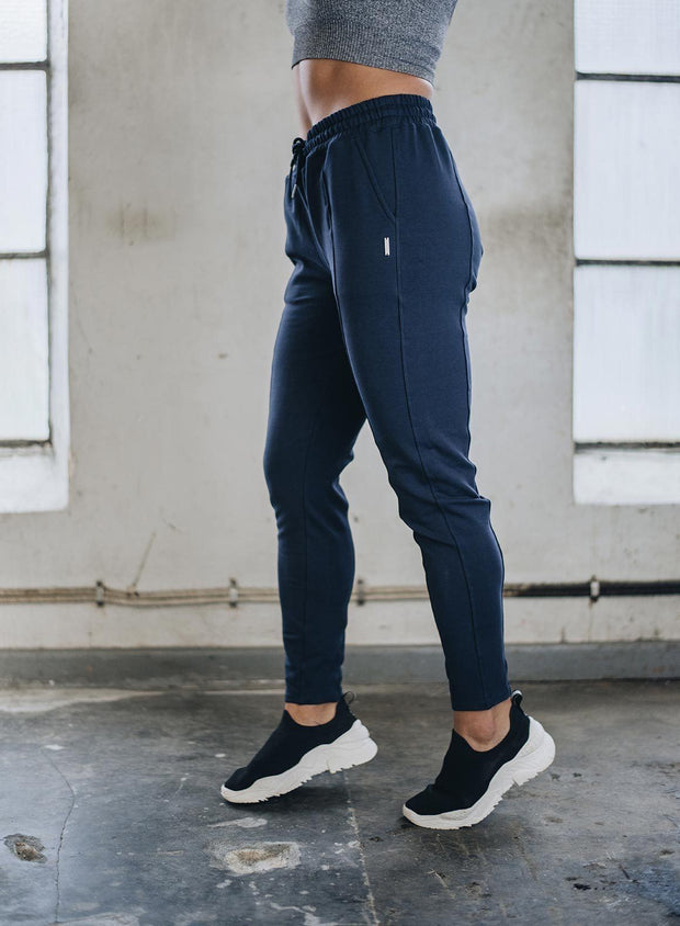 NAVY SWEATSUIT PANTS