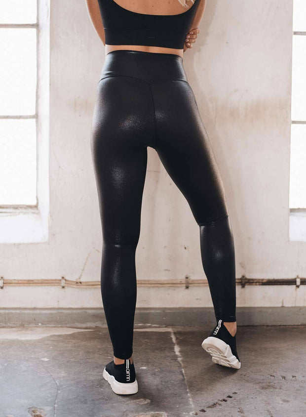Black Shine On Tights