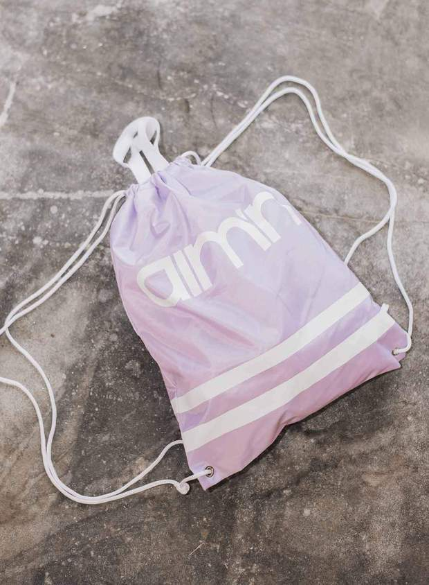 PURPLE GYMBAG aim'n sportswear