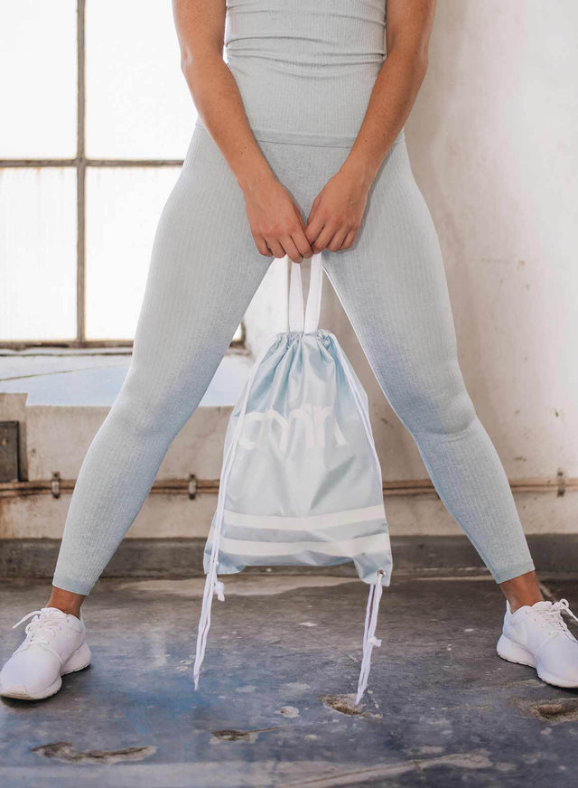 TURQUOISE GYMBAG aim'n sportswear