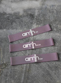 PALE PLUM AIM'N RESISTANCE BANDS