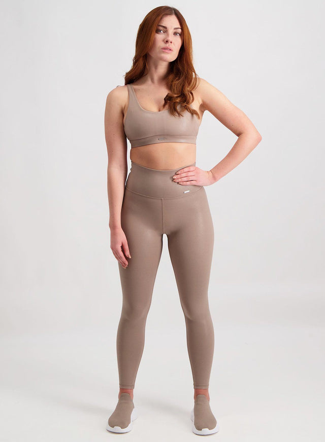ESPRESSO SHINE ON TIGHTS aim'n sportswear
