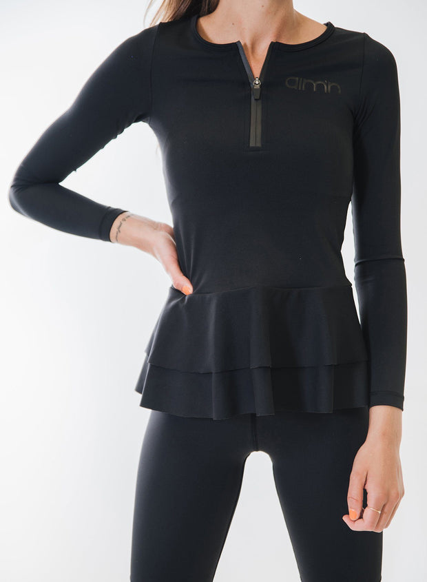 Frilled Long Sleeve