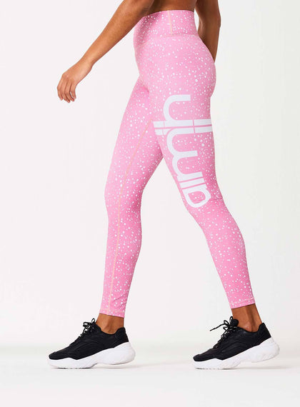 Pink Spotless Tights aim'n sportswear