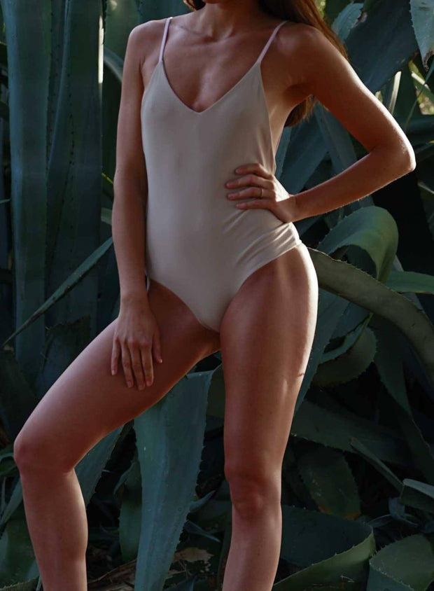 Pink/Nude Reversible Swimsuit