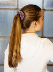 PALE PLUM SCRUNCHIE