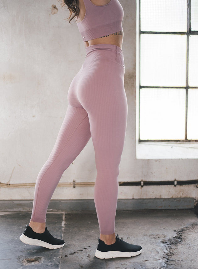 SUNSET HAZE RIBBED SEAMLESS TIGHTS aim'n sportswear