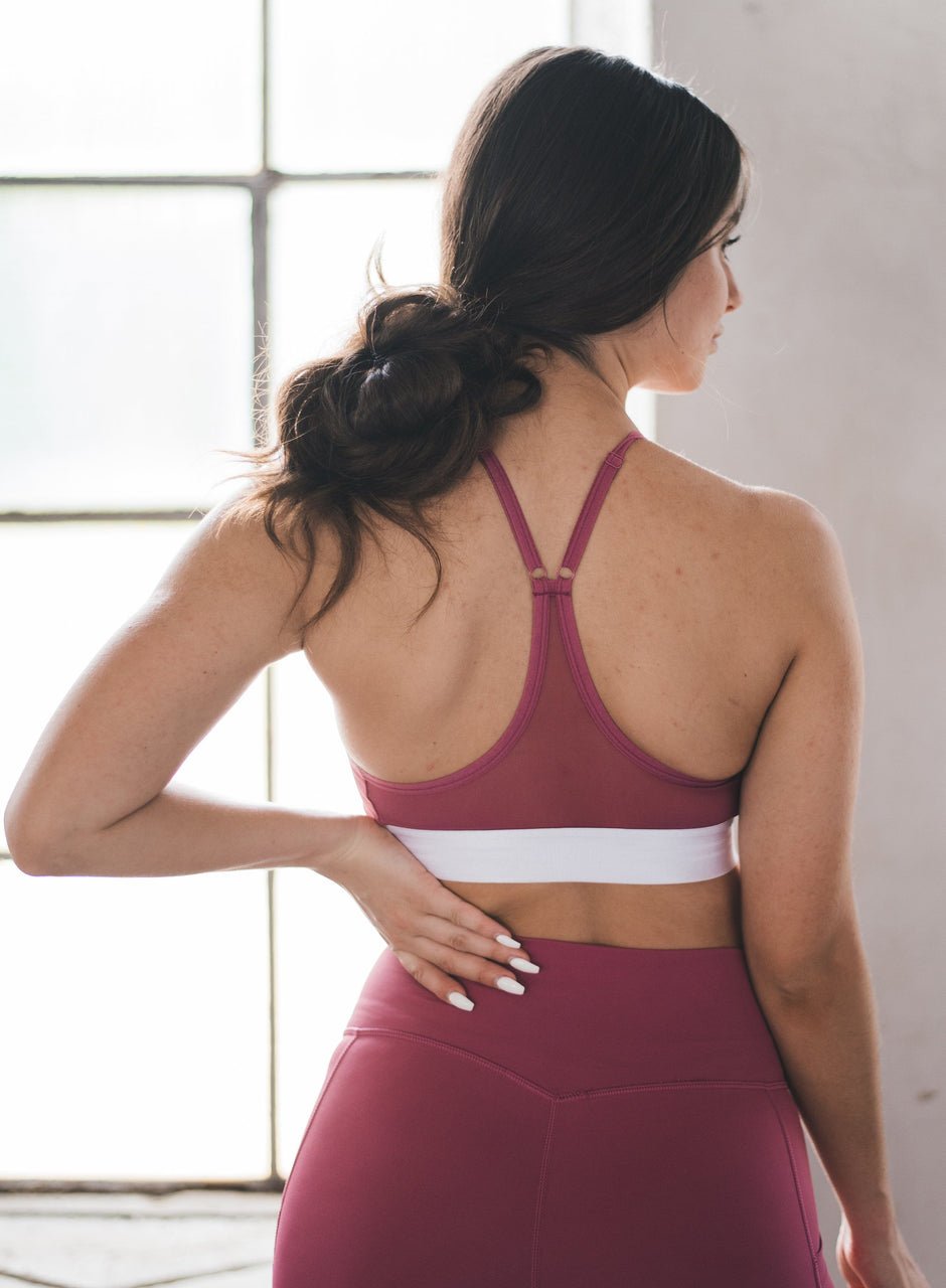 Raspberry Pink Strength Bra