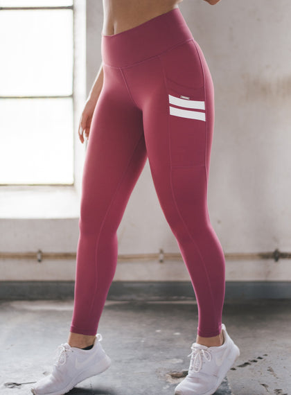 Raspberry Pink Essential Tights