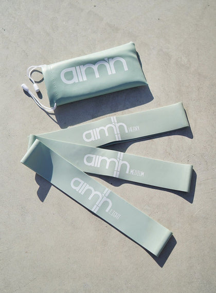 Mint Resistance Band aim'n sportswear