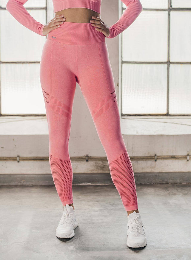 BUBBLEGUM WASHED STATEMENT SEAMLESS TIGHTS aim'n sportswear