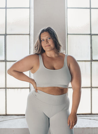 CLOUD RIBBED SEAMLESS BRA aim'n sportswear