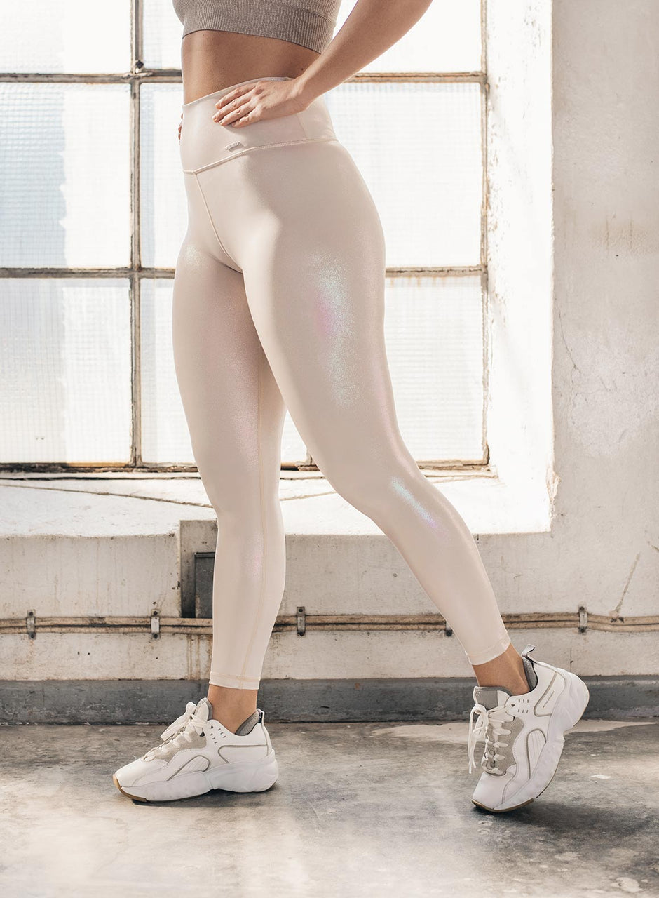 CREAM SHINE ON TIGHTS