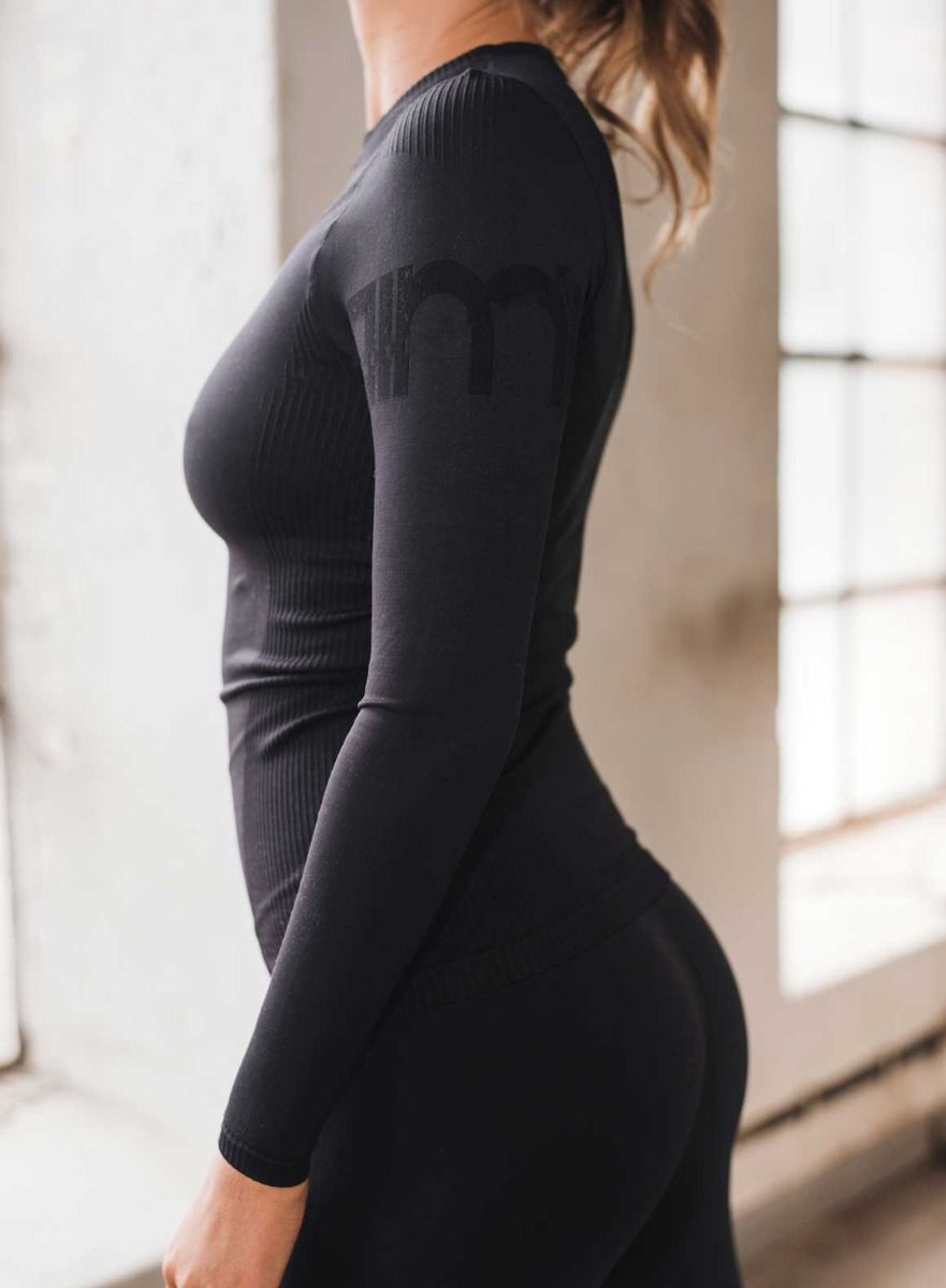 Attention Seamless Long Sleeve
